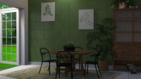 green dining - Dining room - by Brubs Schmitt