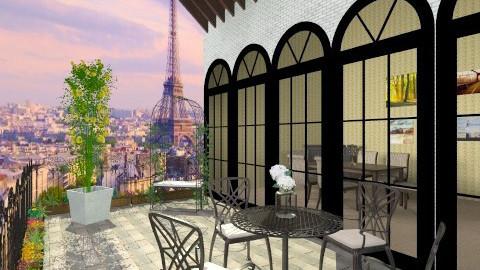 PARIS ROOF - Classic - Garden - by ANAAPRIL
