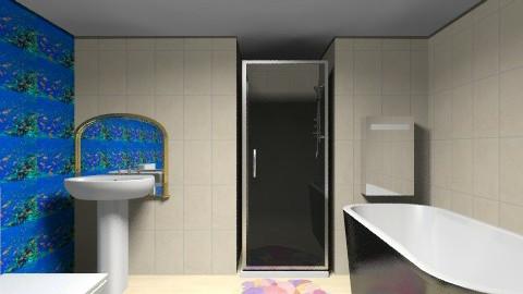 Fish tank bathroom - Bathroom - by i_love_ducks