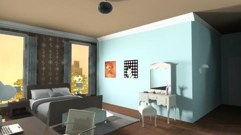 artist bedroom - Bedroom - by skua