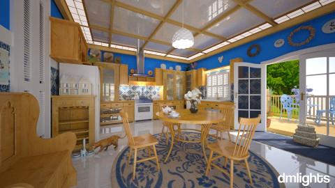Kountry Kitchen - Rustic - Kitchen - by DMLights-user-981898
