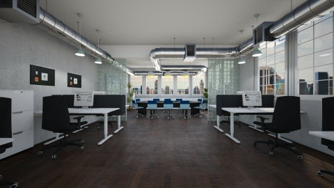 249 Long Office - by Agata_ody