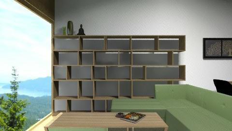 Earthy Living Room - Minimal - Living room - by vanessa_designs