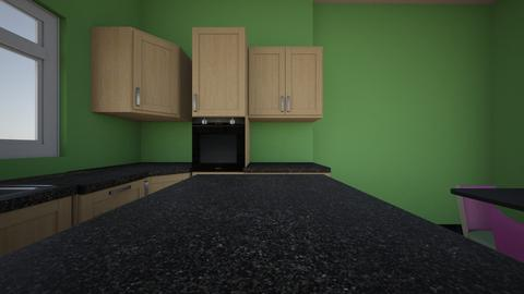 green kitchen - Kitchen - by jacquelyn rose