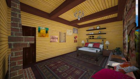 mountain cabin3 - by Bobikee