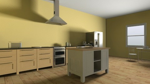 Country Living Kitchen - Classic - Kitchen - by doglover236