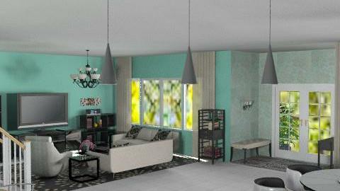 Open concept7 - Classic - Kitchen - by Bibiche