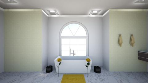 Yellow Bath - Modern - Bathroom - by Brynn S_732