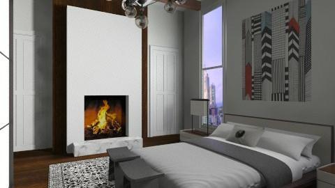 Dital Hotel Room - Modern - Bedroom - by 3rdfloor