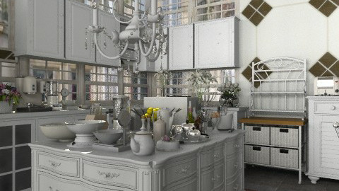 French apartment: kitchen - Classic - Kitchen - by FN27622