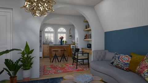 Attic Apartment 2 - by lauren_murphy