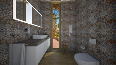 Casa154WC - Eclectic - Bathroom - by nickynunes
