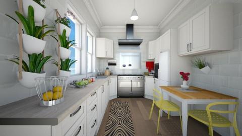 Pequena cozinha - Kitchen - by Roberta Coelho