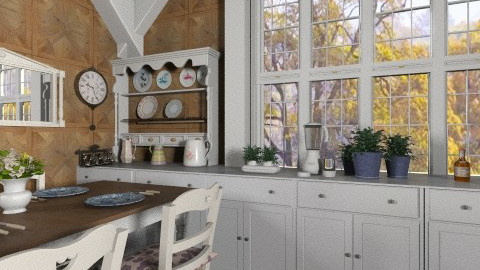 Country 2 - Country - Kitchen - by milyca8