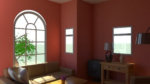 Red Walls Furniture of Glory - Modern - Living room - by Decorator1000