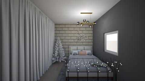 pink christmas   - Rustic - Bedroom - by awood23