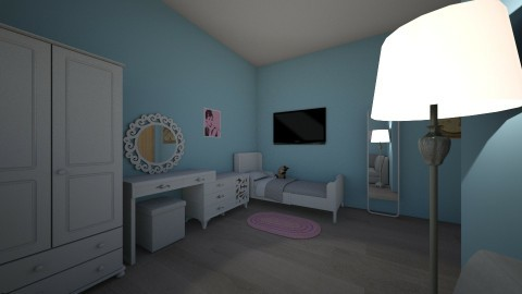 My lovely room - Minimal - Living room - by vavilina_tea