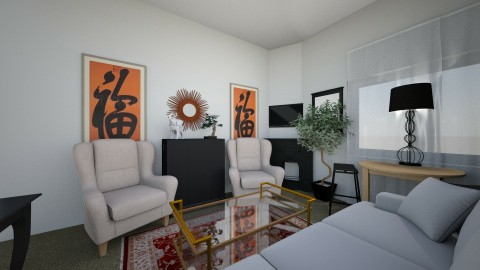 Living room - Eclectic - Living room - by Sandy Flynn