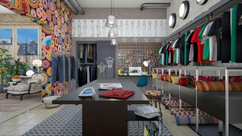 fashion studio  - by Ida Dzanovic