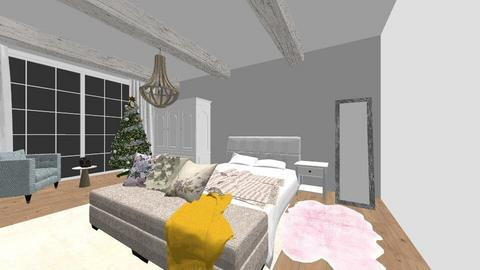 Shabby chic bedroom - Bedroom - by absarecool