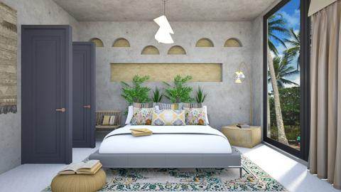 BOHE BEDROOM - Modern - Bedroom - by zayneb_17