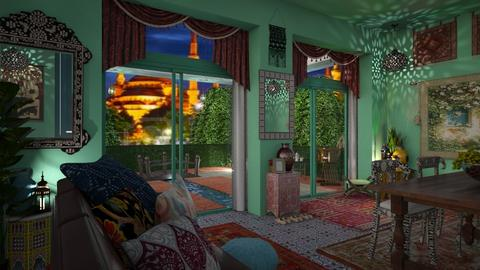 morrocco  - Global - Living room - by donella
