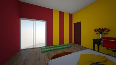 GO KC Chiefs - Bedroom - by jesspeters