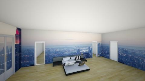 2 - Modern - Bedroom - by Liam Plomteux