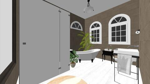 Natural Bathroom 1 - Rustic - Bathroom - by UglyRats