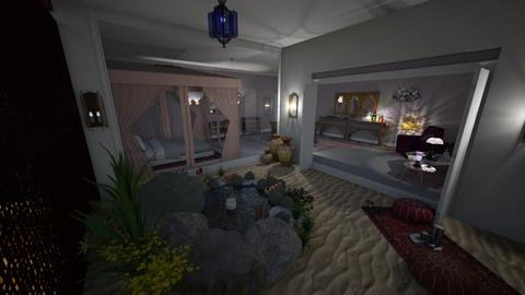 Moroccan oasis - by Brochea