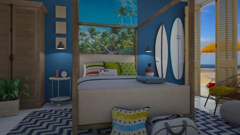 Surf - Bedroom - by Tuija