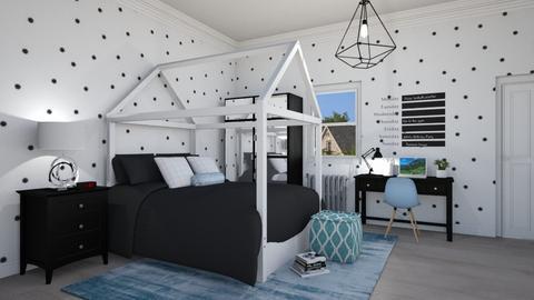 Scandinavian Bedroom 2 - Bedroom - by lovedsign