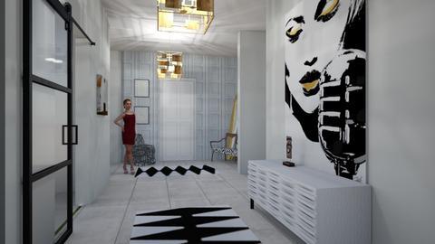 Entryway - Living room - by Dwellings LLC