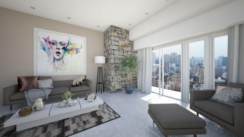 Balcony - Modern - Living room - by Saharasaraharas
