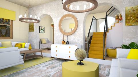Contest OAK - Vintage - Living room - by zayneb_17