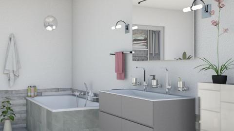 M_ Cinque - Modern - Bathroom - by milyca8