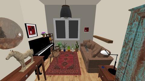 hm - Bedroom - by natasznix
