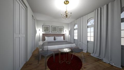 master bed room - by mijeong jang