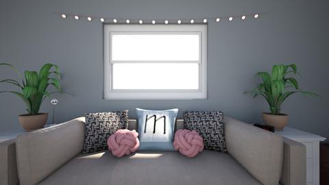 Maddies room  - Rustic - Bedroom - by maddiehatok