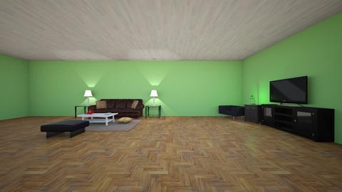 Modern Playful Living - Glamour - Living room - by rodrio   12244