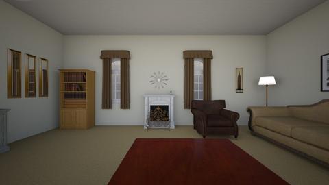Childhood Apartment - Living room - by WestVirginiaRebel