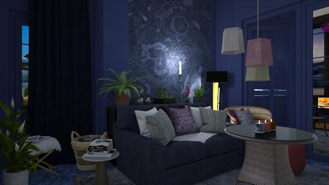 Rooms  - Living room - by augustmoon