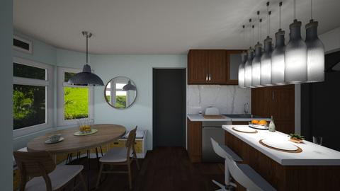 modern kitchen - by cvlors