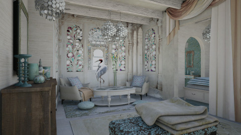 Flamingo - Bedroom - by chania