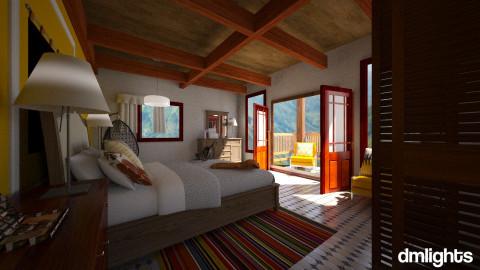 Schwarzwald Colonia Tovar - Bedroom - by DMLights-user-992086