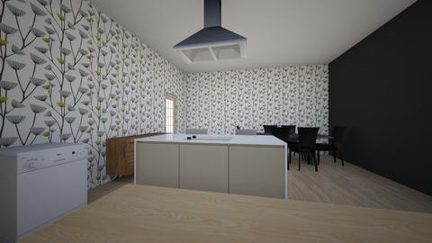 kuchnia 1 - Kitchen - by Matia1