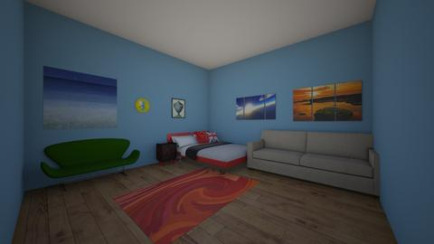 Lucas First Design - Modern - Bedroom - by totsgirlie2007
