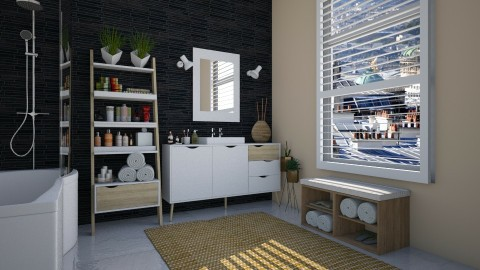 Delta - Modern - Bathroom - by katarina_petakovi