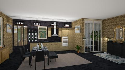 IP Artisan Kitchen - Dining room - by angela18076