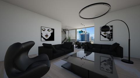 Modern house - Modern - Living room - by Zosia Zakrzowska